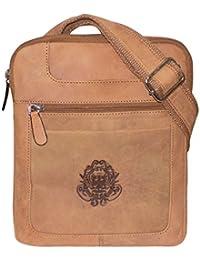 Style98 100% Hunter Leather Crossbody Messenger Tablet Bag  Handbag  Hard Disk Bag  Neck Pouch  Shoulder Bag For... - B072N51WKQ