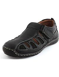 Albertiano Bello Men Sandal(black Color)