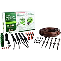 Elgo Pre-assembled 2-in-1 Drip Irrigation And Or Micro Sprinklers / Mist Irrigation Kit - For Up To 12 Planters