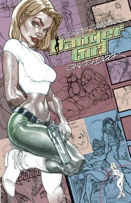 Danger Girl Sketchbook   [DANGER GIRL SKETCHBK] [Hardcover]