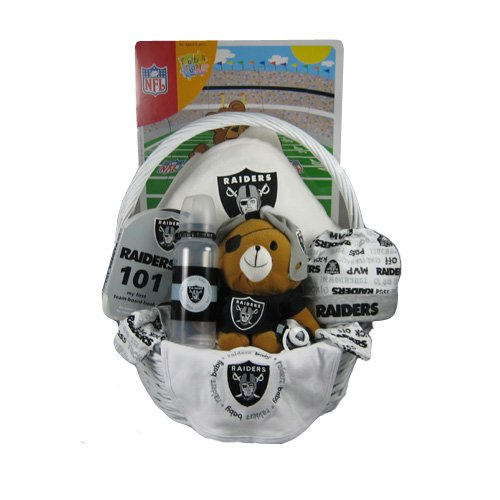 Oakland Raiders Baby Gift Basket ***TOUCHDOWN***