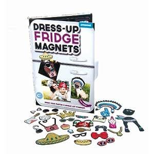 Amazon.com: Spinning Hat Dress Up Fridge Magnets ...