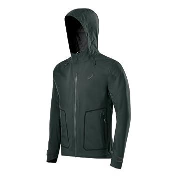 asics jacket green