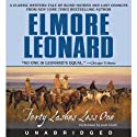 Forty Lashes Less One (       UNABRIDGED) by Elmore Leonard Narrated by Josh Clark