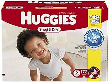172 Count Huggies Snug & Dry Diapers