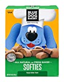 Blue Dog Bakery Soft & Chewy Dog Treats | All-Natural | Peanut Butter | 10oz (Pack of 6)