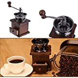 Generic New 2017 Retro Manual Coffee Grinder Wooden Vintage Hand Manual Coffee Machine Kitchen Tools Home Graden...