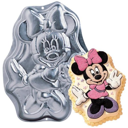 Amazon.com: Wilton Disney Minnie Mouse Cake Pan (2105-3602
