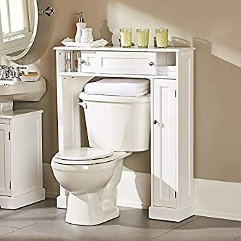 Weatherby Bathroom Over-the-Toilet Storage Cabinet - Improvements