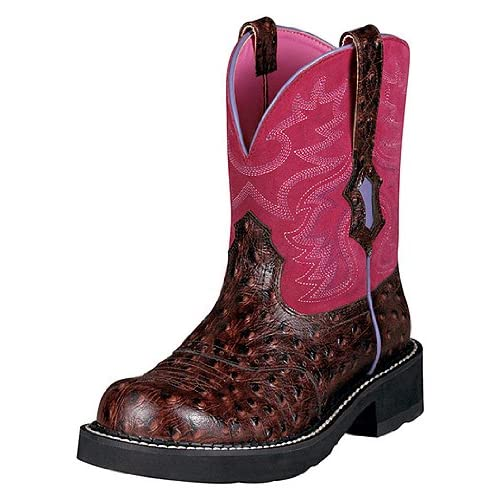 Amazon.com: ARIAT 16773 Fatbaby Saddle Brights Boots Cowboy Shoes