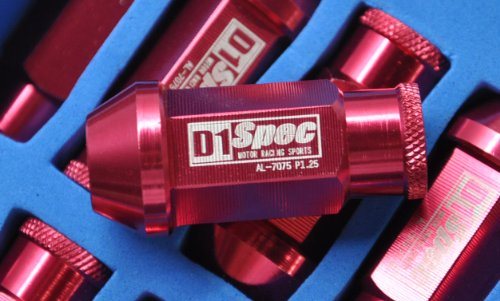 BRAND NEW D1 Spec Wheel Lug Nuts R(RED) 20xpcs 1.5MM x M12 Universal Fit for Most Vehicle
