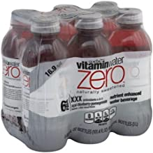 Glaceau Vitamin Water Zero 169 Oz Pack of 2 Acai-Blueberry-Pomegranate