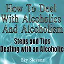 How to Deal With Alcoholics And Alcoholism: Steps And Tips Dealing With an Alcoholic (       UNABRIDGED) by Sky Stevens Narrated by Claton Butcher