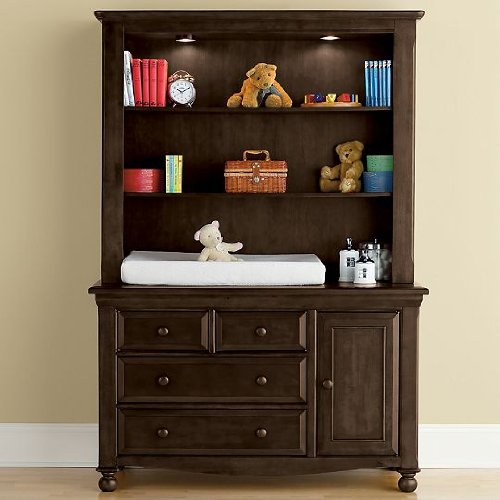 Changing table with hutch baby changing tables built for style amp