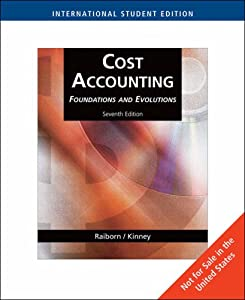 cost accounting foundations and evolutions pdf