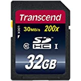 32GB , Card Only , Frustration-Free Packaging : Transcend 32 GB Class 10 SDHC Flash Memory Card (TS32GSDHC10E)