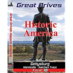Great Drives: Historic America - Monticello to Gettysburg, Nashville to Natchez