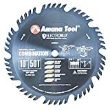 Amana Tool - 610504C Electro-BLU Carbide Tipped Combination Ripping & Crosscut 10
