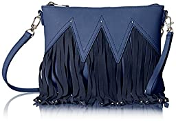Urban Originals Lover Clutch Bag, Navy, One Size