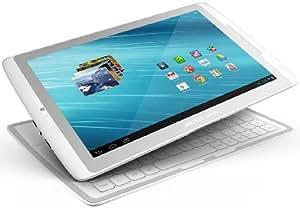 """Archos 101 XS 16GB CLAVIER QWERTZ Tablette Tactile 10.1 """" Android 4.0 Argent, Blanc"""
