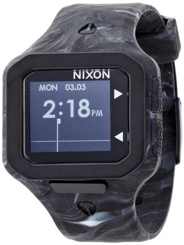 [ニクソン]NIXON SUPERTIDE: MARBLED BLACK SMOKE NA3161611-00 メンズ 【正規輸入品】