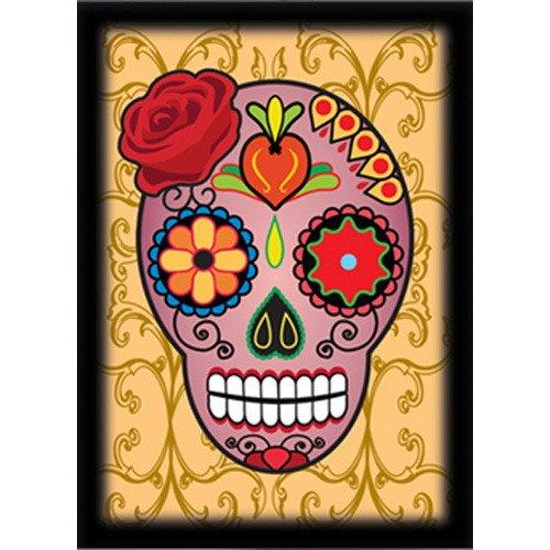 Ultra Pro Pink Skull Dia De Los Muertos Deck Protectors, Standard