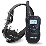 Innoo Tech Dog Training Collar with Remote 330 Yards | Pet Training E-collar for Dog with Beep, Vibration, Shock Electric | Waterproof Dog Remote Training Collar