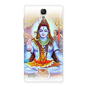 Enticing Blessings Of Shiva Back Case Cover for Redmi Note 4
