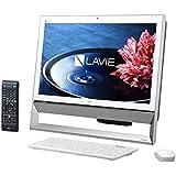 日本電気 LAVIE Desk All-in-one - DA370/BAW ファインホワイト PC-DA370BAW