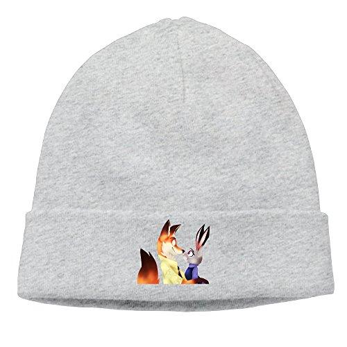 [Jirushi Unisex Nick And Judy Beanie Cap Hat Ski Hat Caps Ski Hat Caps Ash] (Sims 3 Bear Costume)