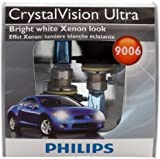 Philips 9006 CrystalVision ultra Upgrade Headlight Bulb (Pack of 2)
