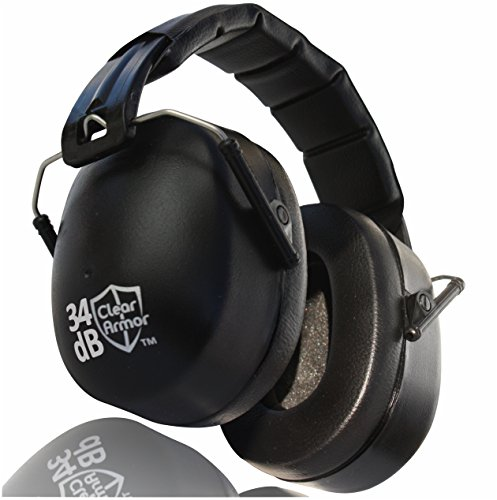 Cleararmor 141001 Safety Ear Muffs Shooters Hearing ...