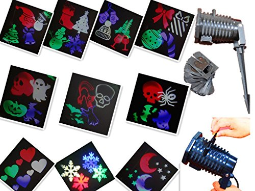 Ucharge-Rotating-Projection-Led-Lights-Snowflake-Spotlight