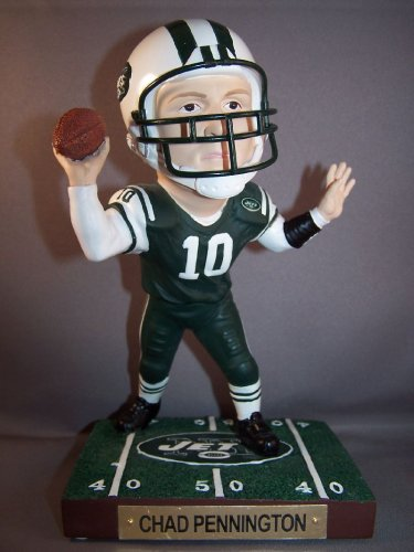 GAME BREAKERS NY JETS CHAD PENNINGTON NFL FIGURE - Buy GAME BREAKERS NY JETS CHAD PENNINGTON NFL FIGURE - Purchase GAME BREAKERS NY JETS CHAD PENNINGTON NFL FIGURE (UPPER DECK, Toys & Games,Categories,Action Figures,Statues Maquettes & Busts)