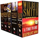 Wilbur Smith Wilbur Smith Omnibus Collection 10 Titles in 5 Book Set (A Sparrow Falls & The Diamond Hunters, A Time to Die & Elephant song, River God & Eagle In The Sky, The Seventh Scroll & Gold Mine, The sunbird & The diamond hunters) (Wilbur Smith Col