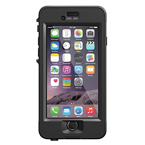 日本正規代理店品・保証付LifeProof 防水 防塵 耐衝撃ケース nuud for iPhone6 Black 77-50307