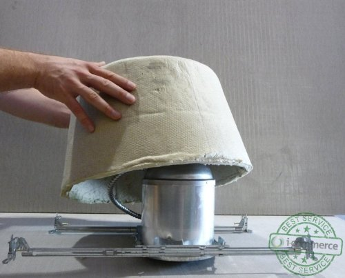 Tenmat recessed light cover review : Tenmat draft stop covers for recessed lighting eliptical