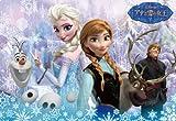 rompecabezas infantil de Disney 60 Reina de la Paz y la nieve Ana DC-60-078