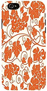 Snoogg grape leaves 2850 Case Cover For Apple Iphone 6 iphone 6