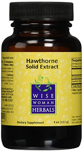 Wise Woman Herbals Hawthorne Solid Extract 4 oz (Hawthorne Solid Extract compare prices)