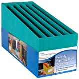 Mead Weekly Planning Desk Organizer, Teal (72310)