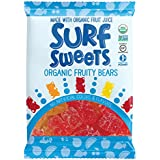 Surf Sweets Organic Fruity Bears Party Pack, 0.5 Ounce (Pack of 50)