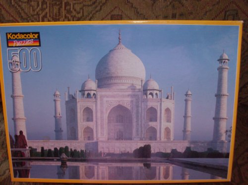 Kodacolor Brand 500 Piece Puzzle - Taj Mahal, India - 1