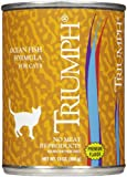 Triumph Ocean fish Canned Cat Food, Case of 12, 13 oz.