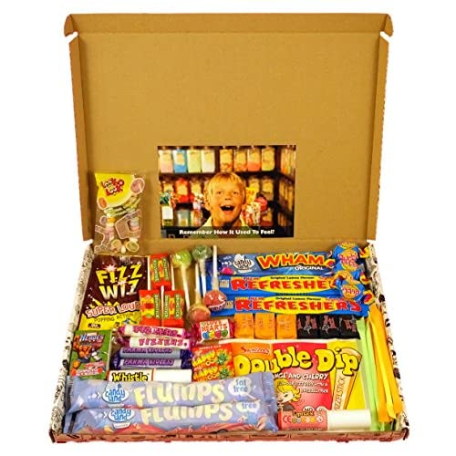 The Letterbox Buster! - Crammed Full Of Mouthwatering Old Fashioned Retro Sweets - 100% Money Back Guarantee!...