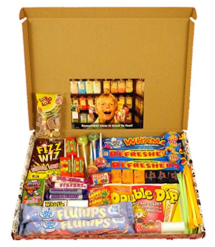 The Letterbox Buster- Old Fashioned Retro Sweets. Will fit through the letterbox- no waiting for delivery.
