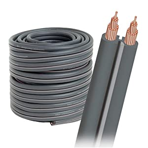 audioquest g 2 bulk speaker cable 16 awg 50 39 spool gray jacket electronics. Black Bedroom Furniture Sets. Home Design Ideas