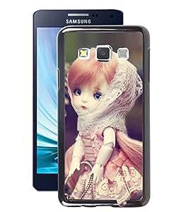 Fuson 2D Printed CuteDoll Designer Back Case Cover for Samsung Galaxy A3 - D729