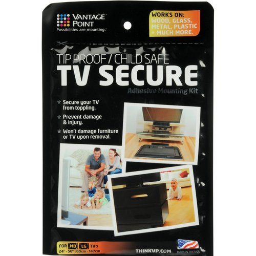 Vantage Point Tv Secure Adhesive Mounting Kit - 1