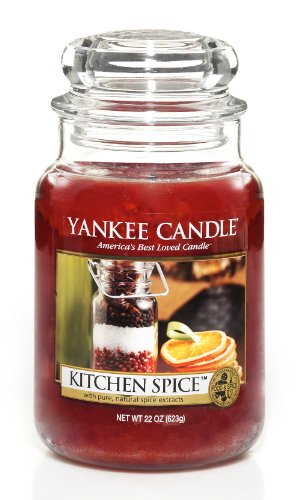 Yankee Candle Kitchen Spice Large Jar 22oz Candle